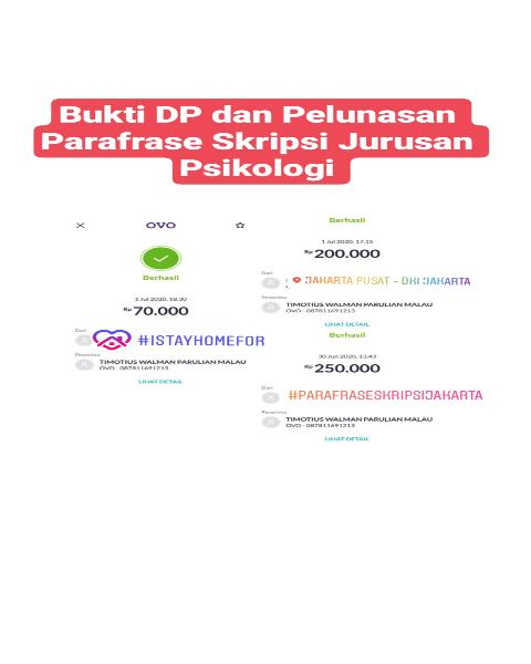 tf25-Bukti Pembayaran Jasa Parafrase Skripsi Jurusan Psikologi (Universitas di Jakarta Pusat)
